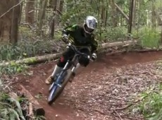 Carter Christie mtb makawao forest