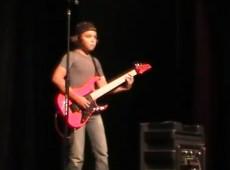 Joe Satriani played by Alec Howard