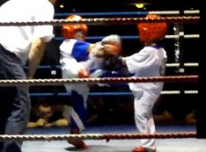 Ross V Arun Junior Kick boxing
