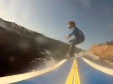 4 year old surfing Santa Cruz Ryder Barton - YouTube