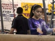 10 Year old Gymnast competing USAG Level 7 States - Beam - YouTube