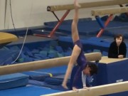 11.5 Year old USAG Level 8 Gymnastics Evaluation meet - Beam 9.25 - YouTube